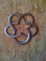 horse shoe star horseshoe crafts