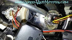 A6 Light Bulb How To Replace Headlight Bulb On Audi A6 C6 4f Dipped Beam Main Beam And Daylight