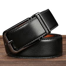 leather belt men s leather two layer leather pin buckle belt wide black belt 110cm