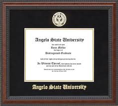 angelo state university diploma frame school seal wordyisms angelo state university diploma frame school seal