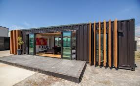 40 Shipping Containers Converted Into A House Storage Units Made Into Homes