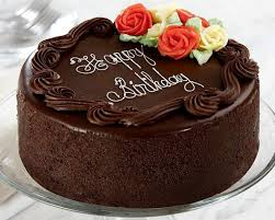 Cake With Photo Online Happy Birthday Chocolate For Love Name And