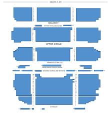 Theatre Royal Drury Lane Seating Chart Theatre Royal Drury Lane Seating Plan London Theatre Tickets