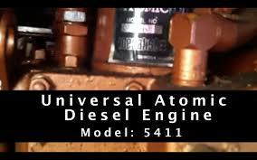 working on a universal atomic diesel engine model 5411 working on a universal atomic diesel engine model 5411