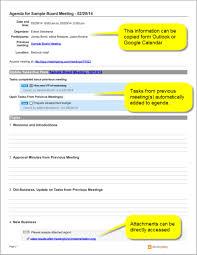 Sample Agendas For Board Meetings Sample Board Meeting Agenda Template Meeting Agenda Meeting