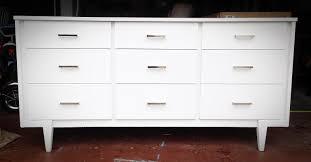 white midcentury modern dresser  mid century modern dresser