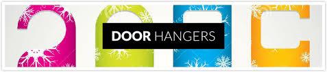 creative door hangers. Door Hangers In Visalia Are A Creative Way To Market Directly Your Prospective Clients. We Can Design Have Maximum Impact And