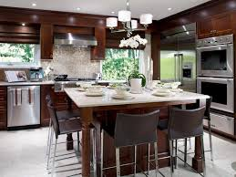 Eat In Kitchen For Small Kitchens Eat In Kitchen Ideas For Small Kitchens Glass Shaded Pendant Lamp