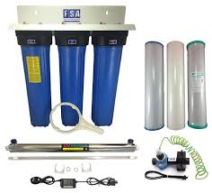 House Water Filter Whole House Bore Water Filter System 20 45 Uv Scale Reduction