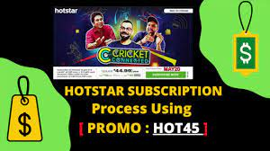 Hotstar Promo Code & Coupon - HOT45 (Free Deals + Offers)