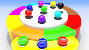 Learn Colors With Color Balls Dancing Toys 3d Kids Children