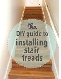 Removing Stair Carpet The Diy Guide To Installing Stair Treads Stair Treads Basements