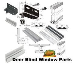 Deer Hunting Box Blind Windows U2022 Window BlindsPlexiglass Deer Blind Windows