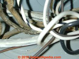 history of old electrical wiring identification photo guide fabric covered nmc electrical wire insulation