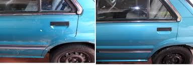 car polish before and after. car cleaning geelong polish before and after