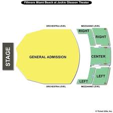Jackie Gleason Theater Miami Seating Chart The Fillmore Miami Seating Chart Travel Guide