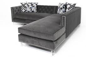 velvet tufted sectional.  Velvet Inspirational Velvet Tufted Sectional Sofa 76 About Remodel Office  Ideas With Throughout R