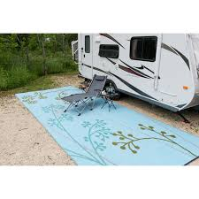 b b nia fernando fl outdoor rv camping blue green reversible patio mat 9 x 12 free today com 9979632