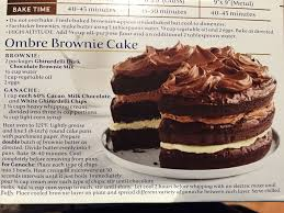 Ghiradelli Ombre Brownie Cake In 2019 Brownie Cake Cake