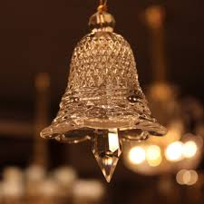 sol glass small clear bell crystal hanging drop baccarat style chandelier glass crystal curtains