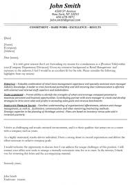 Gallery Of Logistics Resume Cover Letter Example Manager Examples