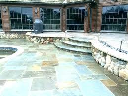 cost to install bluestone patio blue