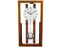 glass pendulum wall clock c7177