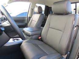 toyota tundra seat covers toyota tundra crew max 2007 13 factory leather replace