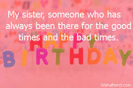 Quotes For Sister Birthday Stunning Sister Birthday Quotes