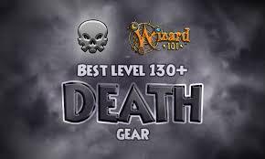 Best Death Gear Level 130 Wizard101 Swordrolls Blog