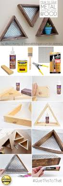 best wood to make furniture. make this cool diy triangle shelves with allisongm of the dream a little bigger blog best wood to furniture h