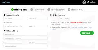 when your verification is approved you will have to press the continue to checkout on and you will get redirected to our payment processor secure