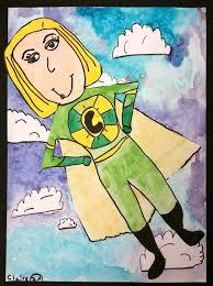 Characteristics Of A Superhero Art With Mrs Seitz Superheroes
