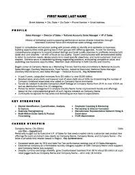 Sample Resumes For Sales Positions. Regional Sales Manager Resume ...