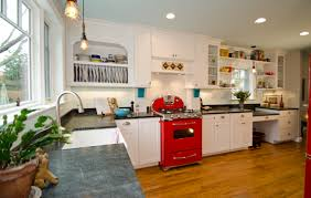 Kitchen With Red Appliances I Want This Elmira Northstar Retro Fridge For The Home Red