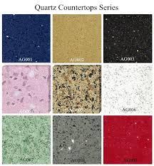 quartz countertops with glitter starlight black