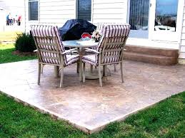 Simple concrete patio designs Inexpensive Simple Concrete Patio Design Ideas Slab Colored Pinterest Simple Concrete Patio Design Ideas Slab Colored Gardens Inexpensive