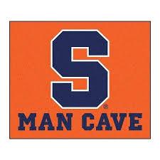 man cave rugs university orange tailgater rectangular mat area rug custom man cave rugs