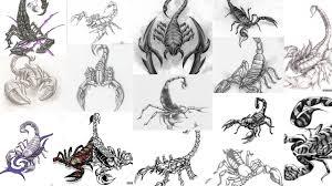 картинки татуировки скорпион