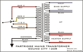 output transformer wire colors wiring diagrams 50watt partridge transformers help please wiring diagram for transformer output