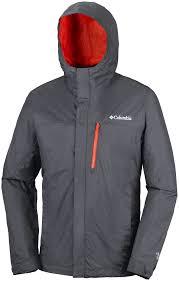 columbia pouring adventure jacket shark 30