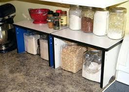 kitchen storage counter organizer shelf shelves top bathroom countertop organizers kitchen storage