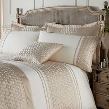 catherine lansfield signature lille embellished faux silk duvet regarding awesome house gold duvet cover ideas