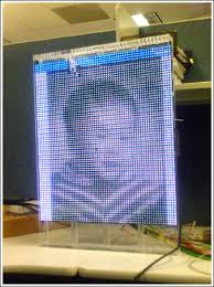 designing an led based video display board application note maxim figure 10 an acrylic frame that houses up to 10 led pcbs