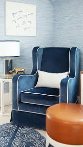 Could there be a more gorgeous, luxe nursing chair? (Available in The  Project