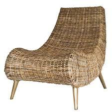 Capri Rattan Side Chair NATURAL