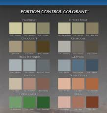 Color Charts Dc Coatings