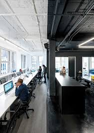 raw office. Raw Office. Distributed Across The 15th And 16th Floors Of A High-ceilinged, Office