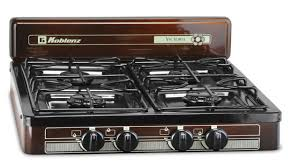 portable gas stove 4 burner propane camping grill cooker outdoor camp rv kitchen