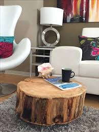 fantastic wood stump coffee table with top best tree ideas on canada